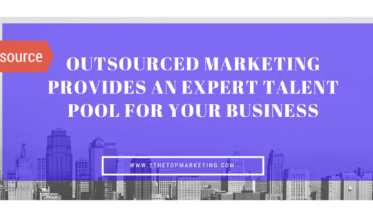Outsource Markeitng For Increased Talent Pool