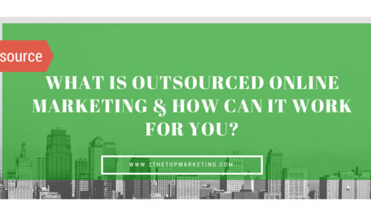 Outsourced Online Marketing Strategies