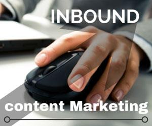 Analytics for inbound content marketing